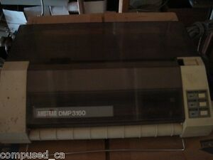 Amstrad DMP 3160 dot matrix 9pin printer - vintage - 1980s hardware