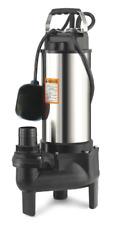 ELETTROPOMPA POMPA RACCOLTA ACQUA ACQUE LURIDE 0,75kw 1hp VORTEX Mod. PRPVC751V