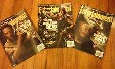 "Entertainment Weekly Magazine ,""The Walking Dead"" Three Cover Set,2013 #1269"