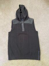 Armani Exchange Half Zip Vest Small