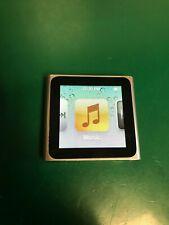 Apple iPod Nano 8GB 6th Gen Generation Silver