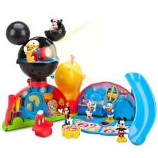 New Disney Junior Mickey Mouse Deluxe Clubhouse Playset Figure Set Light Sounds