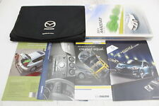 11 Mazda 3 Vehicle Owners Manual Handbook Guide Set