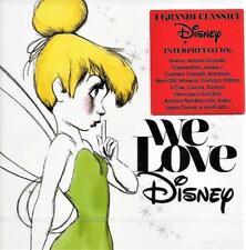 WE LOVE DISNEY - VARIOUS ARTISTS (NEW SEALED 2CD)