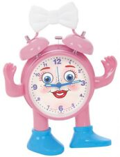 Réveil pour Enfants avec Sekundenanzeiger en Rose > Amovible Bras et Jambes