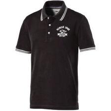 Camisetas de hombre de manga corta negro PUMA