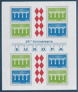 MONACO - BF N°28 - Bloc Feuillet Neuf** // 1984 - EUROPA