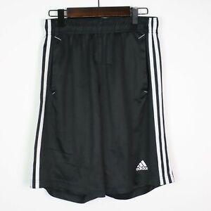 ADIDAS Mens ClimaLite Essentials 3-Stripe Shorts SMALL