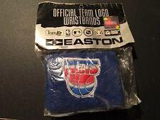 New Jersey Nets Easton Throwback Wristbands Blue Drazen Petrovic Era