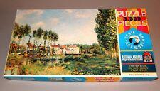 puzzle DUJARDIN 1500 pièces  tableau art moderne SISLEY les bords du loing