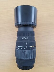 Sigma dg 70-300 Canon Mount