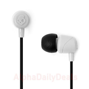 Skullcandy JIB Wired In-Ear Earbuds Headphones White Noise Isolating 3.5mm Jack