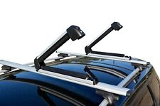 Alloy Fishing Rods Carrier Holder Roof Rack Mounted Lockable 78cm