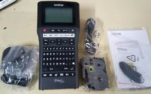 Brother PT-H500 Take-It-Anywhere Labeler, Li-ion Battery and PC Connet PTH500