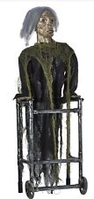 Halloween Animated Zimmer Frame Zombie - New Boxed