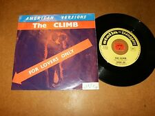 CHERIE LEE AND THE LEE BOYS  - THE CLIMB - THE TUBE - 45 PS / LISTEN