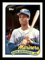 Ken Griffey Jr. Rookie Card 1989 Topps Traded #41T