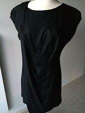 BCBG RUNWAY Black Cocktail dress Open Back Size 10 EUC