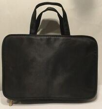 Sonia Kashuk Women's Weekender Cosmetic Bag Black Nylon BRAND NEW