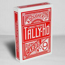 Mazzo di carte Tally Ho - Fan Back - dorso rosso - Mazzi di carte da gioco