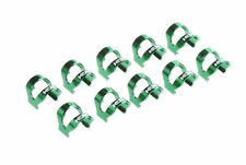 KCNC C-Clip Cable Housing Clips Cable Guides/For Shifter&Brake/10pcs/4g/Green