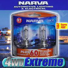 NARVA H7 GLOBES PLUS 60 LONG LIFE BULB 12V 55W 48339BL2 LIGHTS HEADLIGHTS ADR