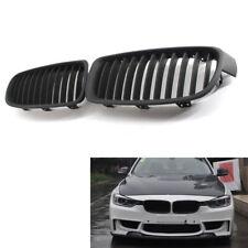 Car Front Kidney Grille Flat Black Fit for BMW F35 F30 Sedan Wagon 12-15