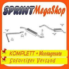Auspuff VW T4 1.9 2.0 2.4 D 2.5 90-95 KURZ SWB Auspuffanlage 1502