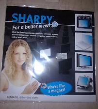 SHARPY 8 panni di pulizia polvere fine-LCD & PLASMA televisori, computer, macchina fotografica