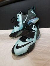50c5f8566aa0 Nike Zoom CJ Trainer 2 limited Sz 6Y Calvin Johnson Black Jade 685351-400 06