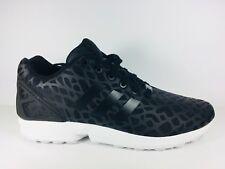 Adidas Originals ZX Flux  Black/White Mens Size - 10 S75726