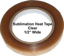 """Sublimation Heat Tape - 1/2"""" Wide - Dye Sublimation - Powder Coating"""
