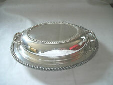 Burche silver covered casserole dish #523
