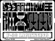 Eduard Zoom FE111 1/48 Academy Lockheed P-38J Lightning