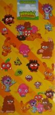 Sheet of 19 Moshi Monsters Stickers