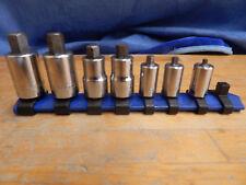 "MAC TOOLS  3/8"" Drive / MATCO 7-Piece Metric Hex Allen Bit Socket Set 3-10mm USA"