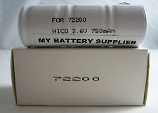 Replacement Welch Allyn 72200 (NiCd) Nickel Cadmium Medical Battery