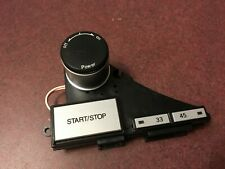 Gemini XL-500 II Turntable Parts - Start/Stop, Power On/Off, Speed Selector Assy