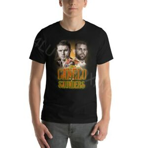 Canelo Alvarez vs Billy Joe Saunders 4LUVofBOXING tee New Boxing apparel