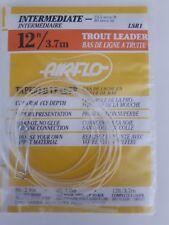 AIRFLO #LSR1   INTERMEDIATE 12ft    TROUT Leader   23.5 secs/ft
