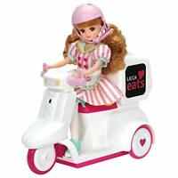 TAKARA TOMY Licca-chan LICCA eats Delivery Scooter (NO DOLL) w/ Tracking NEW