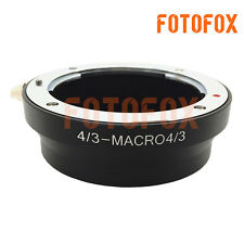 Olympus 4/3 Lens to Olympus Micro Four Thirds m4/3 mount adapter ring MMF-3 MMF3