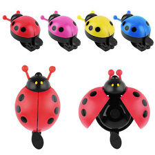 Lovely Ladybug Bike Bicycle Cycling Handlebar Bell Ring Loud Sound Horn Alarm