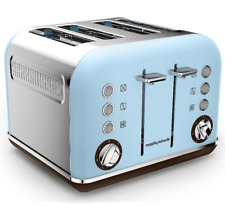 NEW Morphy Richards Special Edition Accents 4 Slice Azure Blue Toaster, 1880W