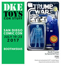 DKE 2017 SDCC Exclusive Darth Trump Figure by Special Ed Toys