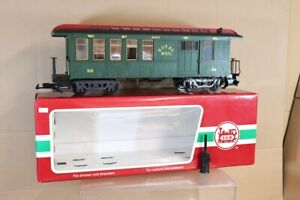 LGB 36818 WHITE PASS & YUKON WP&YR ROYAL MAIL BAGGAGE CAR COACH 202 BOXED nx