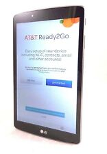 """LG G Pad V495 AT&T GSM Android Tablet 16GB 8.0"""" WiFi * Titan Silver"""