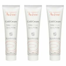 3 X Avene Cold Cream (Very Dry Sensitive Skin) 100ml x3=300ml Moisturizer#9165_3