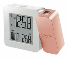 Oregon Scientific Proji Rm338 Rose Gold Orologio radiocontrollato con proiezione