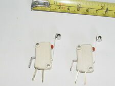 PAIR NOS Otehall HD Micro Switches 15A 250V TWO POSITION